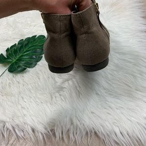 American Eagle Outfitters Shoes - American Eagle | Grey suede Booties